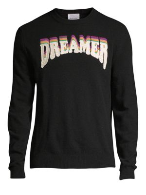 PAUL SMITH Dreamer Lambswool Sweater in Black