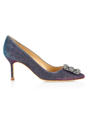 Hangisi 70 Notturno Pumps by Manolo Blahnik