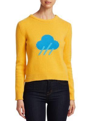 Rainbow Week Capsule Days Of The Week Rain Emoji Sweater, Yellow