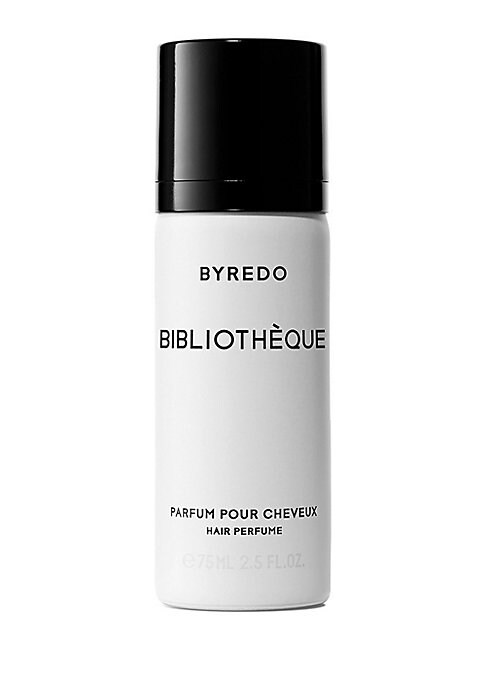 Image of Bibliotheque has been transformed into a collector hair perfume. What was once a black and fragrant wax has become a true phenomenon at BYREDO. Bibliotheque is more than a candle, it's the bestseller BYREDO enthusiasts haven't stopped asking to be worn on