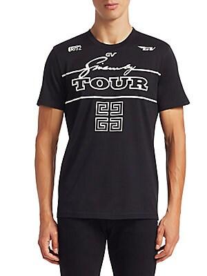 523576e76 Givenchy - Logo GV Tour T-Shirt - saks.com