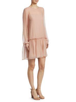 Nº21 Star-Embellished Dress - Neutrals, Powder Rose