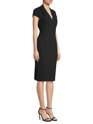 Gerarda Short Sleeve Sheath Dress by Elie Tahari