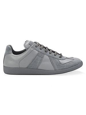 064c84bb65a9 Maison Margiela - Replica Holographic Low-Top Sneakers - saks.com