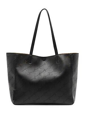 94eb09f9971f Stella McCartney - Small Stella Faux Leather Tote Bag