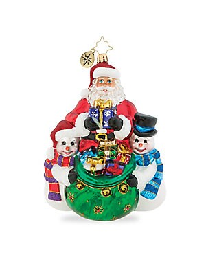 Christopher Radko - Euroglass Cool Christmas Couriers Ornament