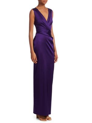 3a284194c59bb Style Name  Talbot Runhof Stretch Duchess Satin Gown. Style Number   5616832. Available in stores.