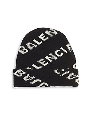 Womens Beige Beanie Hat with Diamante Eye Embellishment Detail