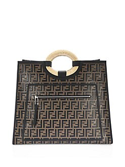 186eedb42 QUICK VIEW. Fendi. Runaway Logo Shopper