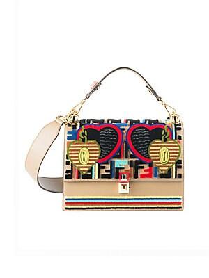 2278d59863 Fendi - Tappetino Kan I Embroidered Shoulder Bag - saks.com