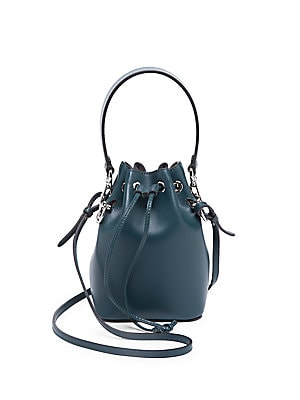 e3fffa8517c0 Fendi - Micro Mon Tresor Leather Bucket Bag