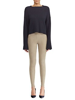 Ralph Lauren Collection. Cashmere Cropped Sweater