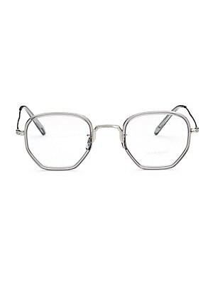 6c898c84e8c Oliver Peoples - Workman 46MM Optical Glasses - saks.com