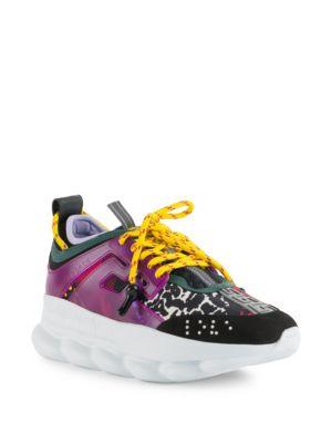 Chain Reaction Leopard Neoprene Sneakers, Multi