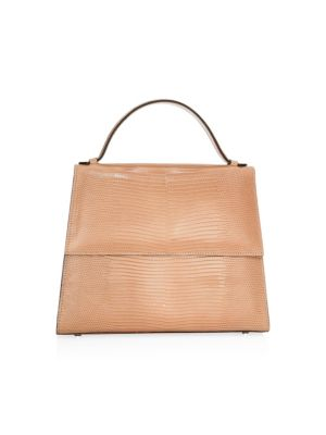 Lizard Leather Top Handle Bag by Hunting Season
