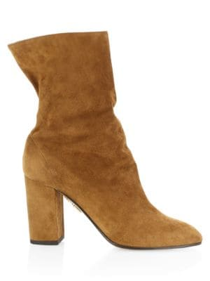 Boogie Slouch Ankle Boots by Aquazzura