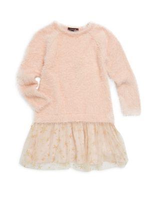 Little Girl's & Girl's Sweater Dress by Imoga
