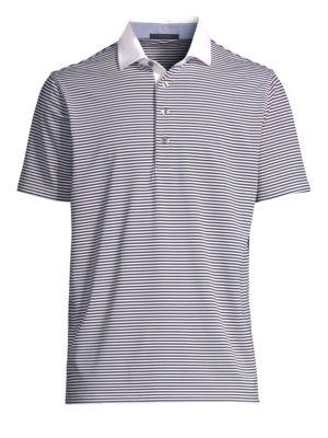 GREYSON Choctaw Striped Polo Shirt