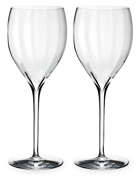 Set of Two Elegance Optic Sauvignon Blanc Glasses