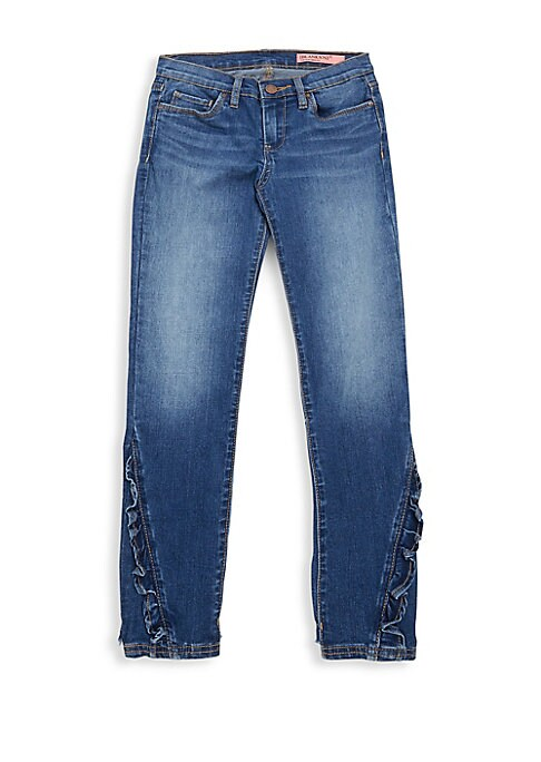 Girls Rapunzel Ruffle Jeans