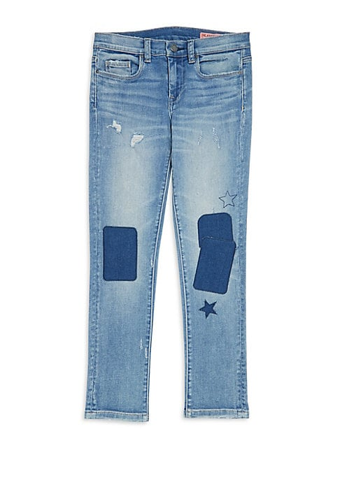 Girls Iced Tea Patch Jeans
