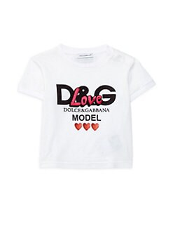 455187ff Product image. QUICK VIEW. Dolce & Gabbana. Baby Girl's D&G Love T-Shirt