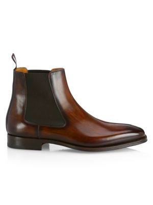 various colors great quality buy sale Saks Fifth Avenue - COLLECTION BY MAGNANNI Leather Chelsea Boots ...