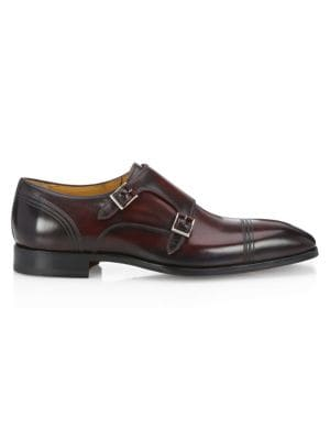 Collection By Magnanni Double Monk Strap Derby Shoes by Saks Fifth Avenue