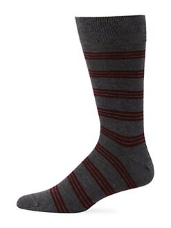 6163029f4 Saks Fifth Avenue. COLLECTION Striped Socks