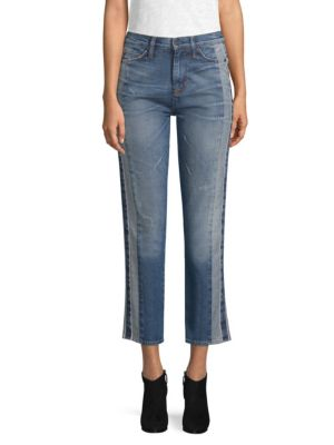 High Rise Ankle Jeans by Hudson
