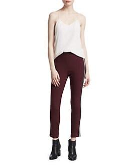 37bb559f90d2d Rag & Bone. Simone Ponte Cropped Pants