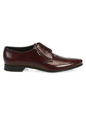 Vitello Nectar Leather Dress Shoes by Prada