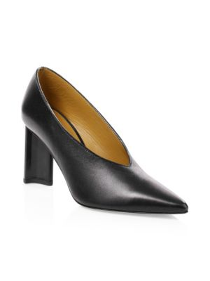 Clergerie Leathers Kathleen Leather Pumps