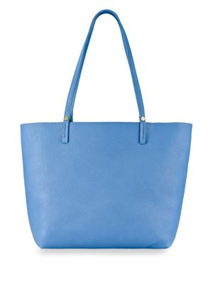 Gigi New York Pebble Leather Tote Bag