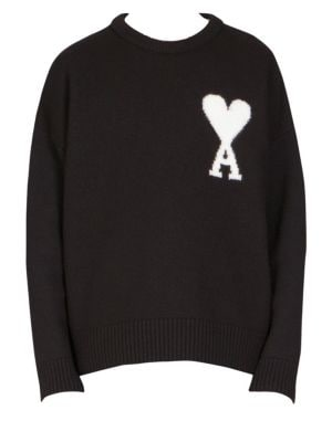 Oversize Wool Sweater by Ami
