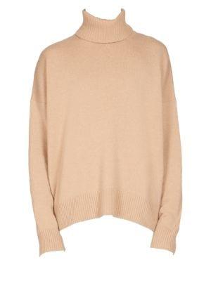 AMI ALEXANDRE MATTIUSSI Oversize Turtleneck Sweater