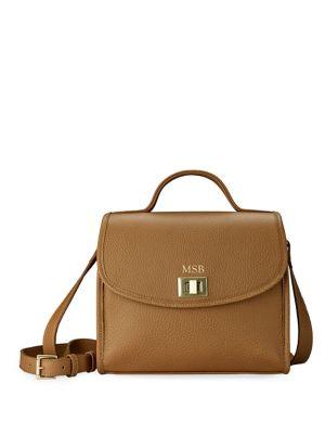 Gigi New York Amelie Leather Crossbody Bag