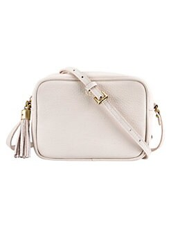 d77ffd489a QUICK VIEW. Gigi New York. Pebbled Leather Madison Crossbody Bag