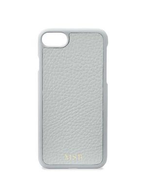 Gigi New York Grey Pebbled Leather iPhone 7 Case