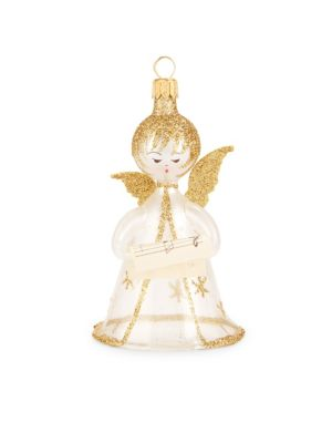 Transparent Angel Ornament by De Carlini