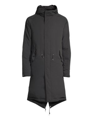 SANYO Timeless Down Parka in Charcoal