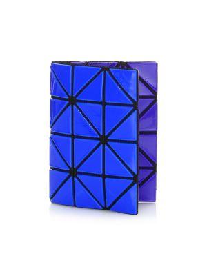 Color Block Card Case in Blue