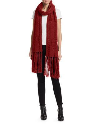 Blow Cable Fringe Scarf by Isabel Marant