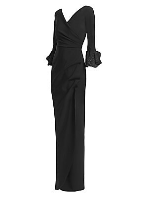 Chiara Boni La Petite Robe Risa Floor Length Gown Sakscom