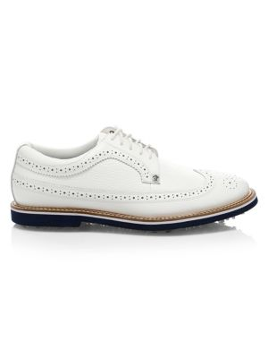 G/FORE Gallivanter Wingtip Leather Shoes in Patriot