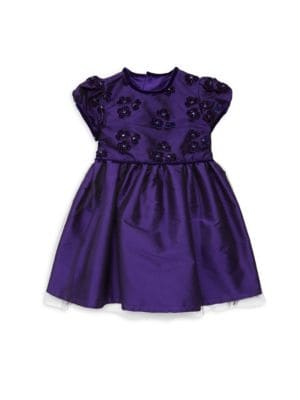 Baby Girl's Floral Applique Dress by Isabel Garreton