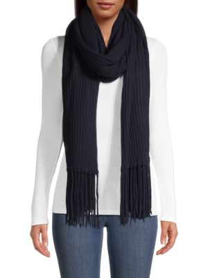 7fc797afe Saks Fifth Avenue - COLLECTION Cashmere Core Rib-Knit Scarf - saks.com
