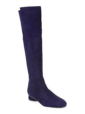 adc9571b862 Stuart Weitzman - Hiline Suede Over-The-Knee Boots - saks.com