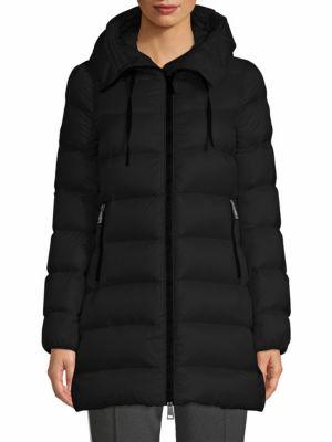 568a5049d Shoptagr | Suyen Legere A Line Hooded Coat by Moncler