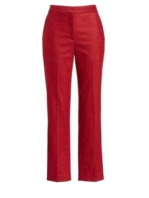 Poppy Wool Cropped Trousers by Rag & Bone